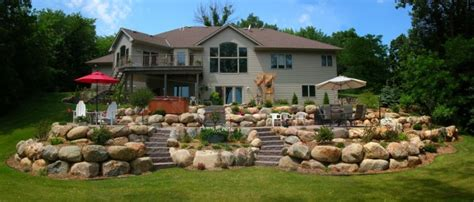cost of building a house in mn boulder walls minneapolis landscaping minnesota