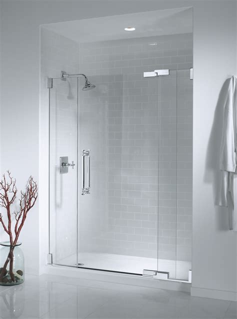 Glass Door Bathroom Showers Cast Iron Pan With Frameless Glass Our Shower Doors Do More Than Pictures
