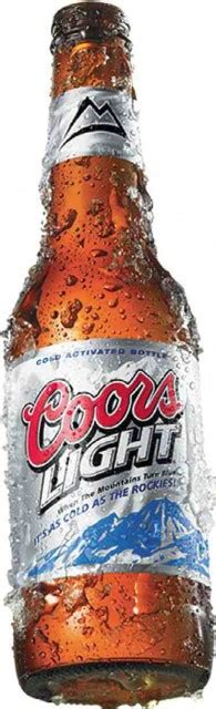 coors light by volume top 10 brands