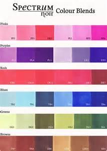 spectrum noir color chart pin by baggett on spectrum noir