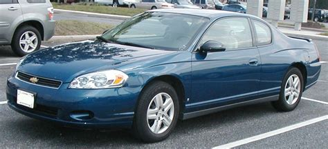 2006 Chevy Impala Interior File Chevrolet Monte Carlo Jpg Wikimedia Commons