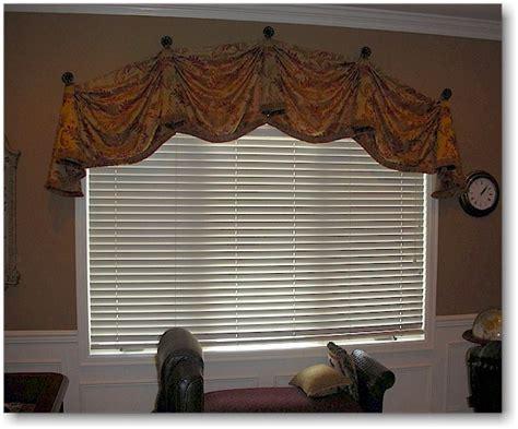 Decorative Valance blind alley decorative top treatments portfolio