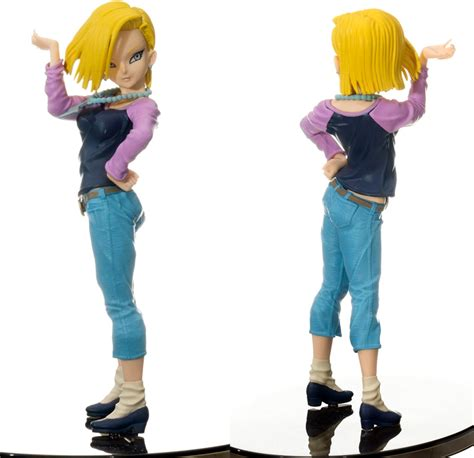 Z Scultures 6 Android 18 Battle Ver scultures android 18 z ichigo toys