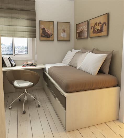 Bedroom Ideas For Small Spaces Small Floorspace Rooms