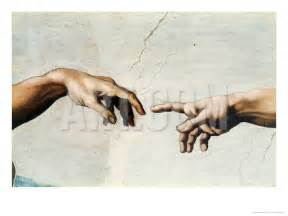 the creation of adam detail of god s and adam s