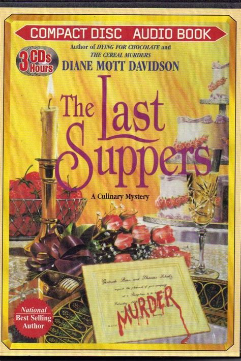 the last suppers books the last suppers by diane mott davidson abridged audio book