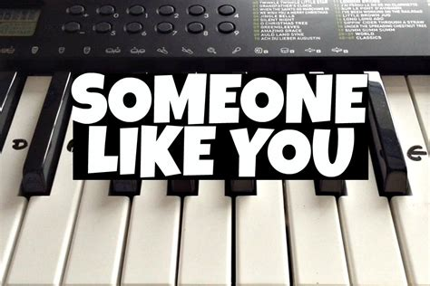 tutorial in keyboard someone like you adele easy keyboard tutorial with