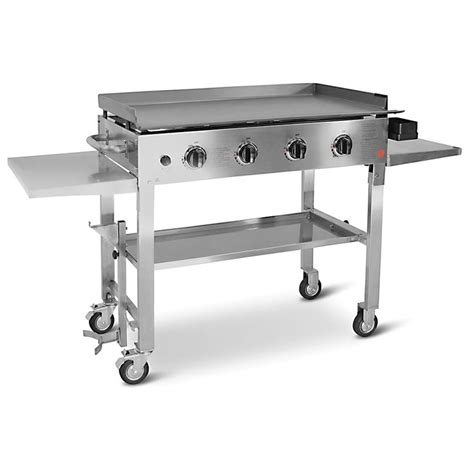top gas grills grills ideas glamorous outdoor flat top gas grill best