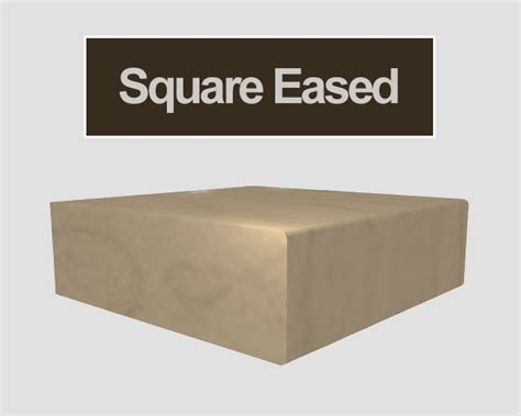 eased edge 12 absolute bullnose with ogee edge profiles