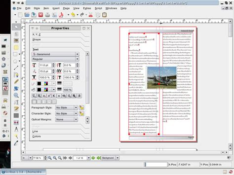 layout newspaper program scribus professional page layout for linux linux com