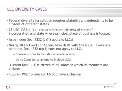 28 usc section 1332 llc law today beyond
