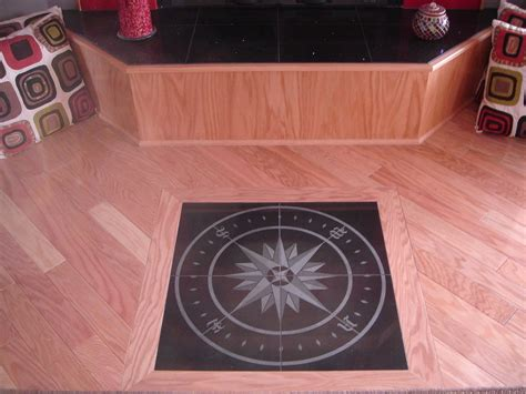 Custom Floor Medallions by Specialize In Engraving Sandblasting And Sublimation