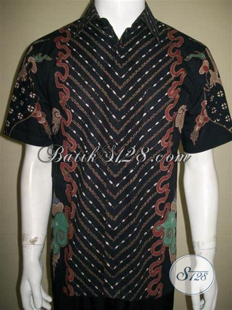 Baju Batik Terbaru Lengan Pendek Ukuran M Motif Bunga model baju batik tulis pria terbaru lengan pendek motif