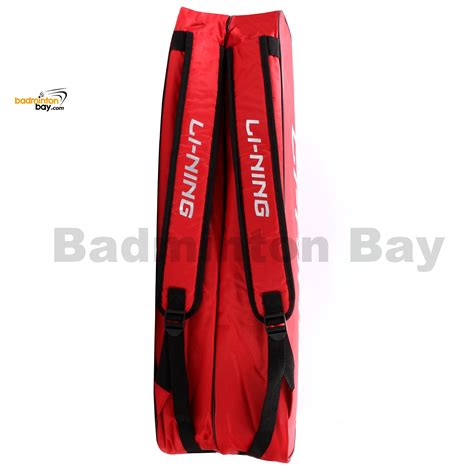 li ning 2 compartments non thermal badminton racket bag