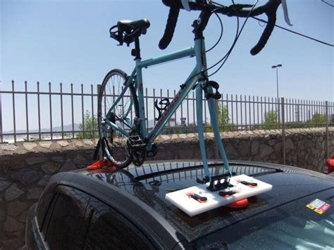 Cheap Bike Racks by How To Make A Cheap And Reliable Suction Based Bike Rack