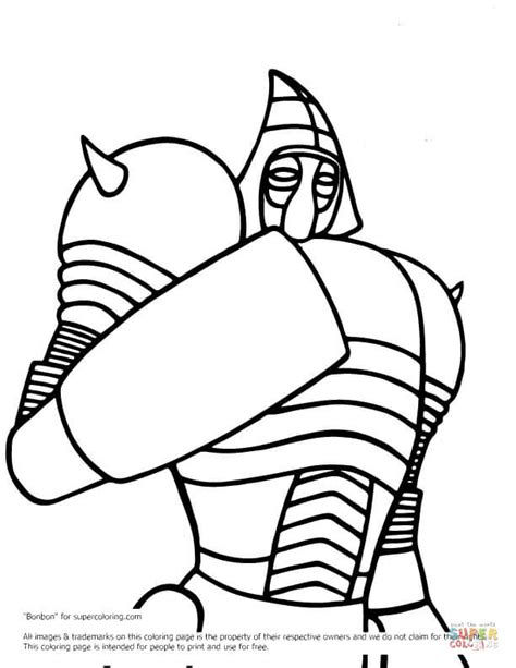 noisy boy coloring page real steel noisy boy coloring page free printable