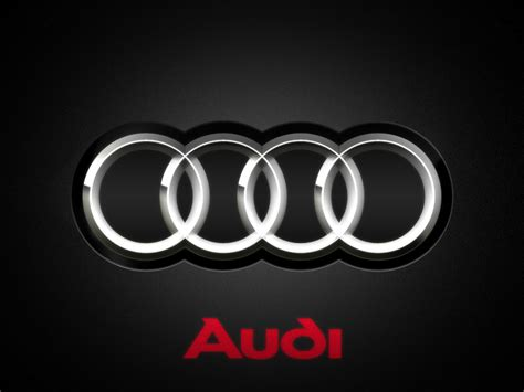 Audi Logo Wallpaper by Audi Logo Desktop Wallpapers Desktop Backgrounds For