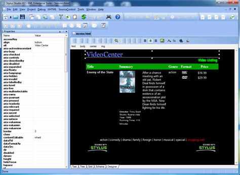 html design editor online html wysiwyg designer