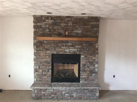 fireplace veneer veneer pavers