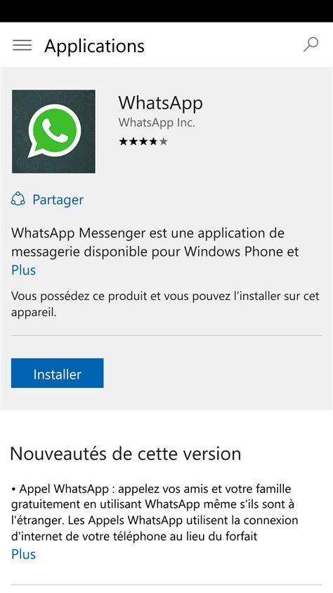 whatsapp version web pour ios et nouveaut233s pour windows