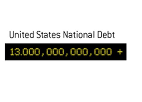 united states debt clock january 2016 dave manuel us debt clock ticks past 13 trillion for the first time