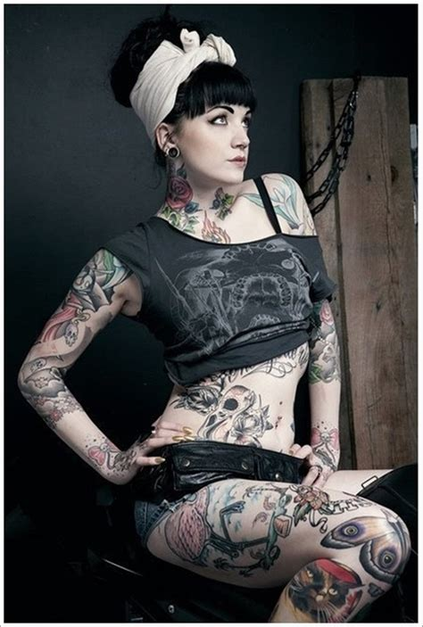 full body tattoo female pictures 40 awesome full body tattoos for women