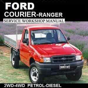 Ford Courier Ranger 1998 2006 Pd Pe Pg Series Workshop