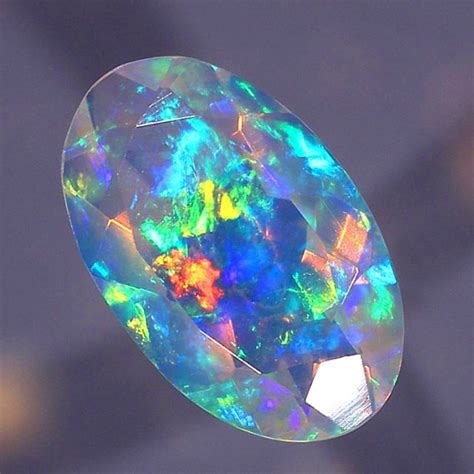 faceted opal opals