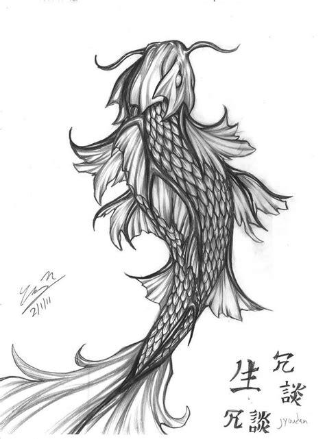 koi tattoo facing up or down best 25 koi dragon tattoo ideas on pinterest dragon koi