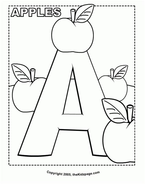 coloring pages for preschoolers get this easy letter coloring pages for preschoolers xon4i