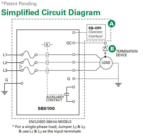 ground fault circuit interrupter wiring diagram industrial shock block sb6000 series block diagram electronic products