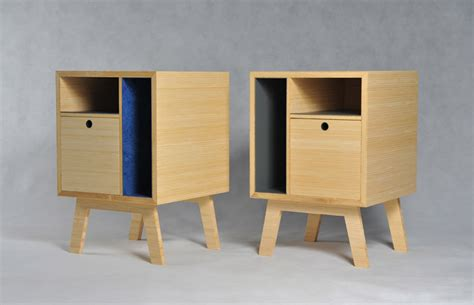 plywood bedside table simple bedside tables by scott clements furniture