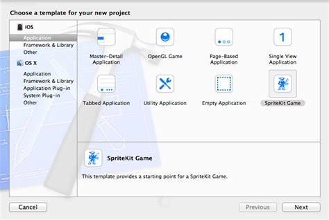 sle xcode game project an ios 7 sprite kit game tutorial techotopia