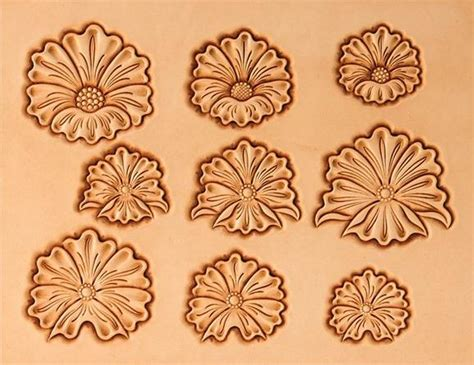 7 Best Images of Leather Flower Patterns Printable   Free