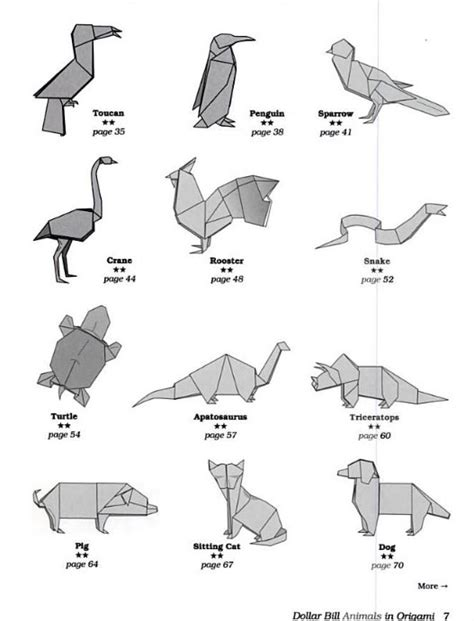 Intermediate Origami Animals - intermediate origami animals comot