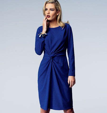 069 Flare Dress Crepe Triangle Side Dress Dress Cakep Murah Murah v1359 misses dress designer vogue patterns lined dress has shoulder pleats semi fitted