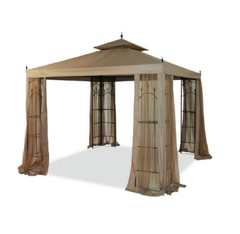 arrow gazebo arrow gazebo replacement canopy and netting set garden winds