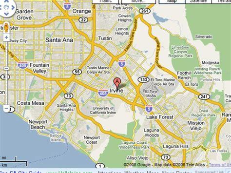 california map irvine ca image gallery irvine map