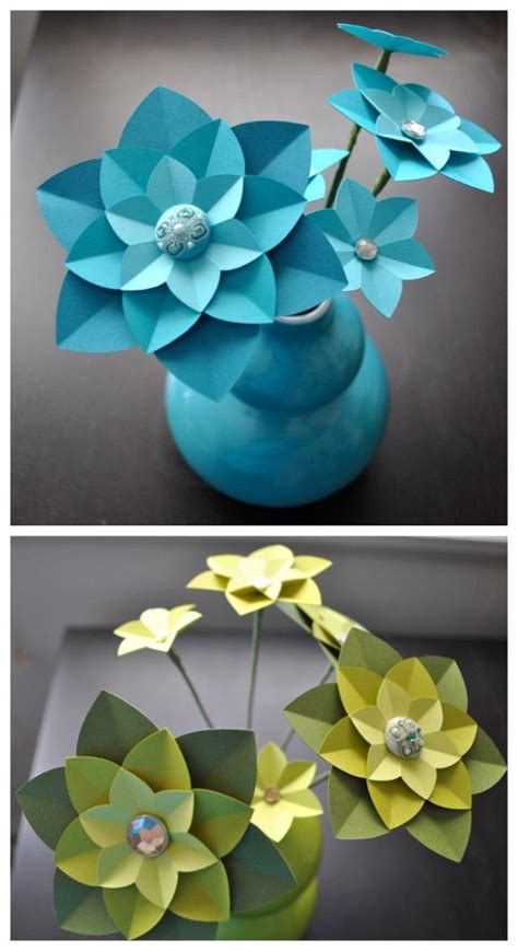 paper flower tutorial pinterest paper flowers paper flower centerpieces and diy tutorial