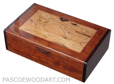 Decorative Wood Boxes by Decorative Wooden Box Handcrafted Wood Keepsake Box
