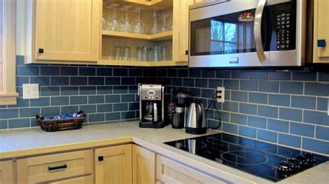 Green Subway Tile Kitchen Backsplash Traditional Home Modernized With Style