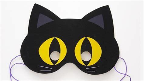 printable halloween cat masks last minute halloween quickie 100 free printable masks