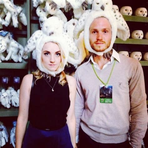 The Harry Potter Press Madness Begins And Evanna Dont Away by Harry Potter Evanna Lynch And Robbie Jarvis Split