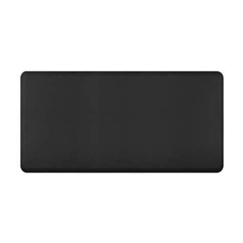 Kitchen Mats Black Wellnessmats Anti Fatigue Kitchen Floor Mat Black 6x3
