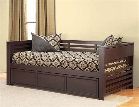Dark Wood Dining Room Sets by Hillsdale Miko Daybed With Trundle 1457dbt