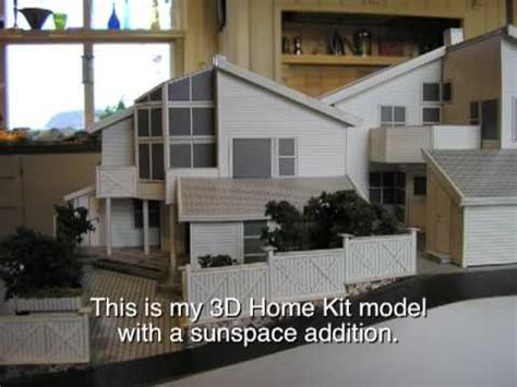 3d home kit by design works 3d home kit model of my house in norway youtube