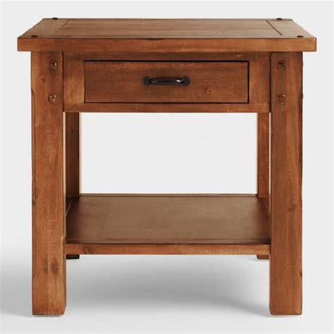 world market c table madera end table world market