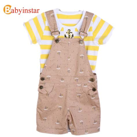 Set Cotton 2017 baby cotton set summer style infant clothes baby