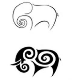 elephant tattoo clipart simple elephant outlines clipart best