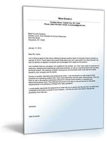 software development cover letter sle cover letter for software developer position de